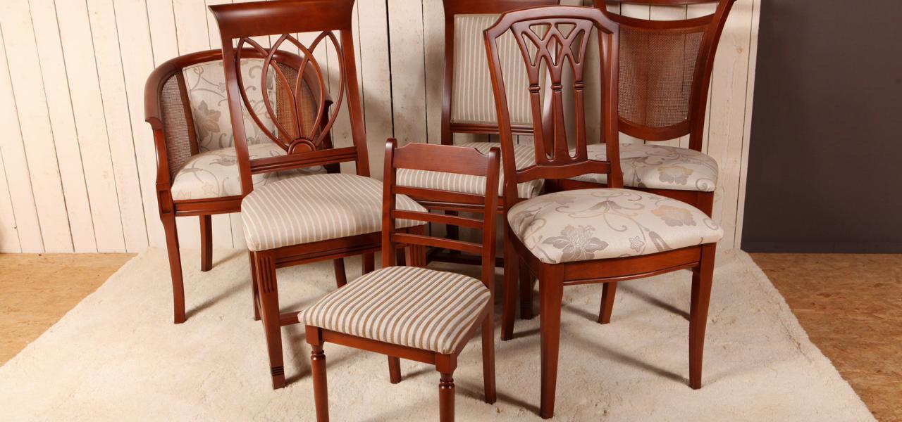 Kersenhouten stoelen for Klassieke eetkamerstoelen